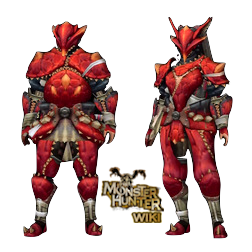 MH3U Volvidon Armor