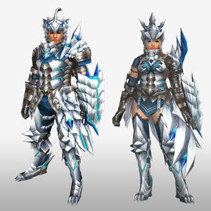 FrontierGen-Altera Armor (Gunner) (Front) Render