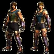 MHGU-Jaggi Armor (Both) Render