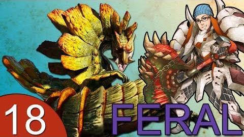 Monster Hunter 4 Nubcakes 18 - FERAL Najarala English commentary online gameplay