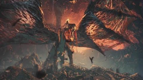 Monster Hunter World Vaal Hazak Boss Fight 28 (Solo Long Sword)
