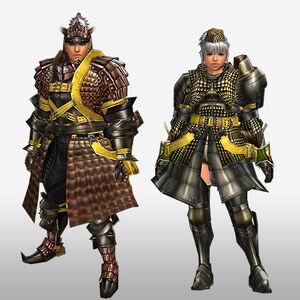 FrontierGen-Geneposu G Armor (Blademaster) (Front) Render
