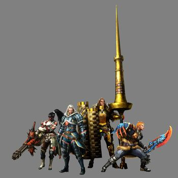 MH4-Lead Hunters Render 001
