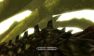 MH4U-Black Gravios Back Break 001