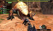 MH4U-Tigerstripe Zamtrios Screenshot 017