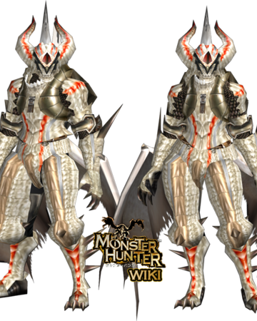 White Fatalis Z Armor Gunner Monster Hunter Wiki Fandom