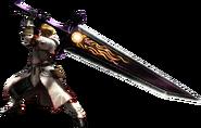 MH4G-Great Sword Equipment Render 001