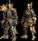 MHGU-Cephalos Armor (Blademaster) Render