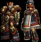 MHGU-Gammoth Armor (Blademaster) Render
