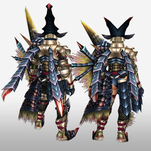 FrontierGen-Beru G Armor (Gunner) (Back) Render
