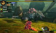 MH4U-Deviljho and Ruby Basarios Screenshot 001