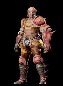 MHO-Congalala Armor (Gunner) (Male) Render 001