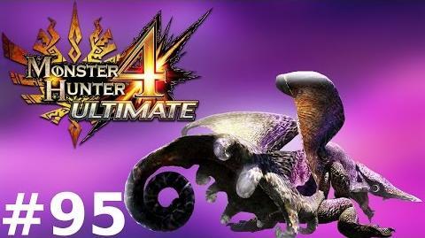 Monster Hunter 4 Ultimate Multiplayer -- Part 95 Chameleos - The Elder Dragon of Mist