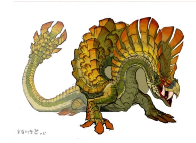 File:MH4U-Najarala Concept Art 001.png