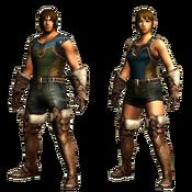 MHGU-Trapper's Armor (Both) Render