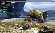 MH4U-Zinogre and Furious Rajang Screenshot 004