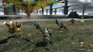 MH3U HD Gold Rathian 2