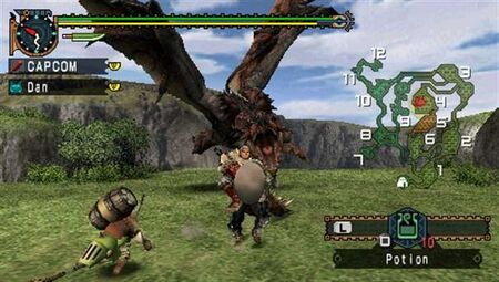 MHFU-Rathalos Screenshot 001