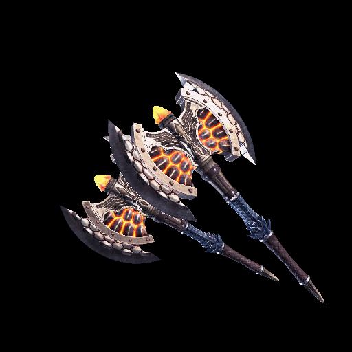 Rookslayer Handaxes (MHW) | Monster Hunter Wiki | FANDOM