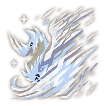 monster hunter world iceborne frostfang barioth icon