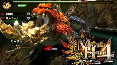 Monster Hunter 4 Nubcakes 08 - Tetsucabra English commentary online gameplay