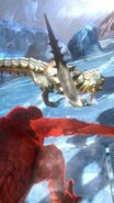 MHSP-Barioth and Red Khezu Screenshot 001