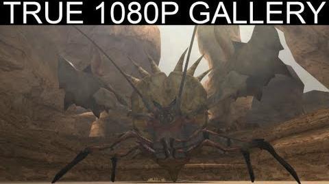 08 - One Horned Daimyo 1080p Hermitaur ダイミョウザザミ - Monster Hunter Freedom Unite Gallery MHFU