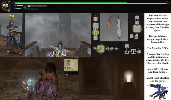 MHFG Tenrou Quest Map Essentials Compilation