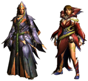 MHGU-Edel Armor (Both) Render