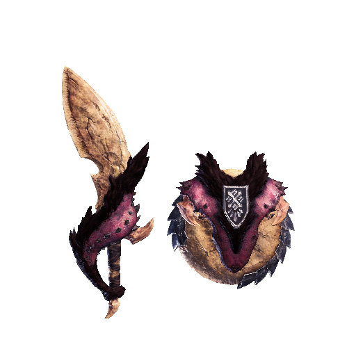 MHW-Sword and Shield Render 029