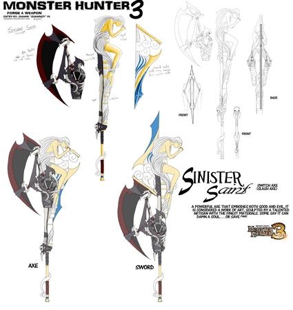 Sinister Saints-Concept