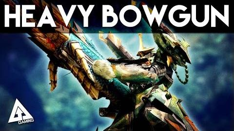 Monster Hunter 4 Ultimate Heavy Bowgun Tutorial MH4U Basics