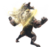 MHWI-Furious Rajang Render 001