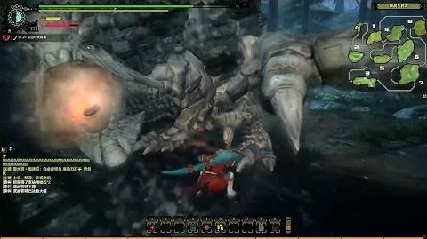 Monster Hunter Online CBT - Basarios Gameplay With Longsword