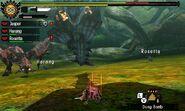 MH4U-Azure Rathalos and Pink Rathian Screenshot 003