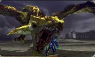 MH4U-Gold Rathian Screenshot 001
