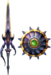 MH4U-Sword and Shield Render 998