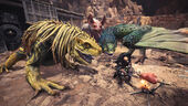 MHW-Great Jagras, Pukei-Pukei and Paolumu Screenshot 001