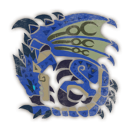 MHW-Azure Rathalos Icon