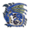 MHW-Azure Rathalos Icon