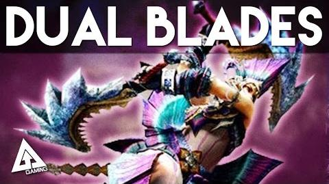 Monster Hunter 4 Ultimate Dual Blades Tutorial (Dual Swords)