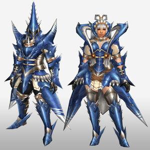 FrontierGen-Torupedo G Armor (Blademaster) (Front) Render