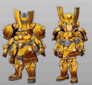 MHST-Uragaan Armor Set Render 001