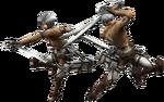FrontierGen-Survey Corps Armor (Both) Render 2