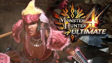 Monster Hunter 4 Ultimate - Launch Trailer