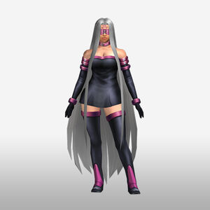 FrontierGen-Gorgon Armor 001 (Female) (Both) (Front) Render