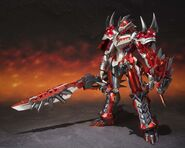 Chogokin-Monster Hunter G Class Henkei Rathalos 007
