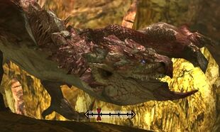 MH4U-Pink Rathian Head Break 002