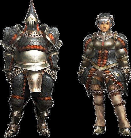 File:MH4U-Gypceros Armor (Blademaster) Render 001.png