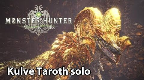 MHWorld Kulve Taroth solo (Lv6)
